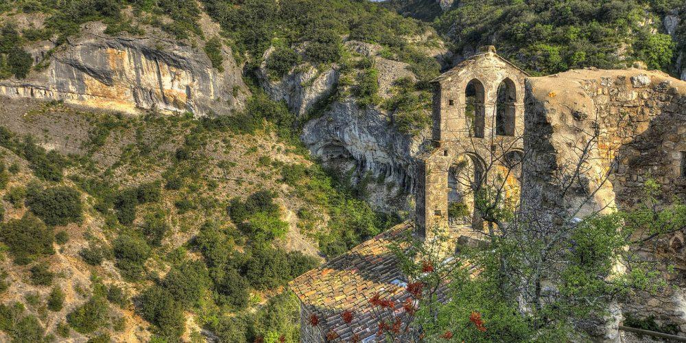 180 Balazuc Ardèche gîte charme vue panoramique jacuzzi Rochecolombe