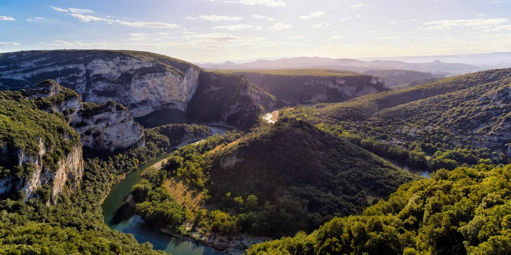 180 Balazuc Ardèche gîte charme vue panoramique jacuzzi gorges de l ardèche