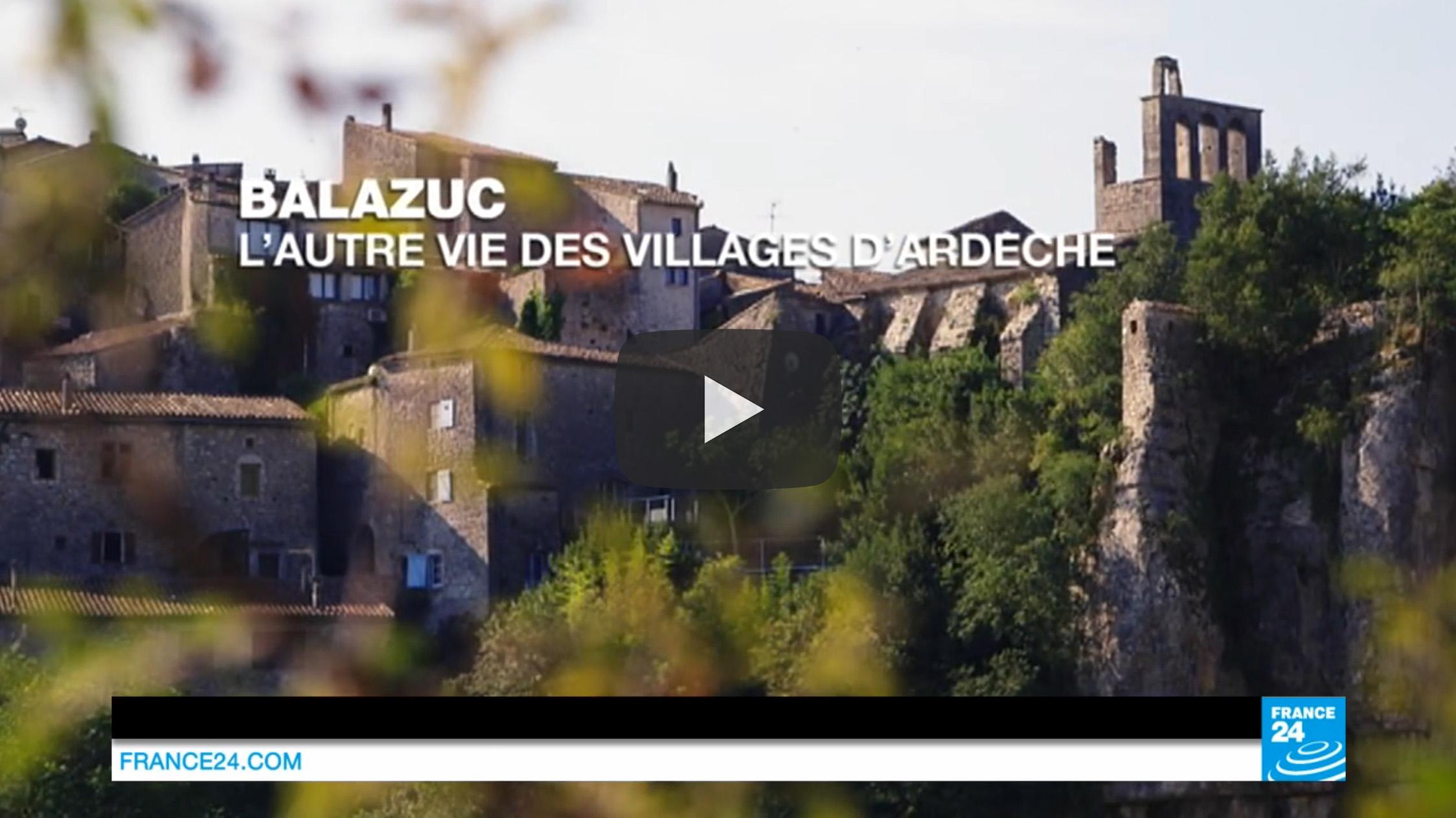 180 Balazuc Ardèche gîte charme vue panoramique jacuzzi reportage documentaire